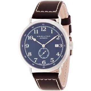 Hamilton Men's Khaki 'Pioneer' Automatic Brown Watch