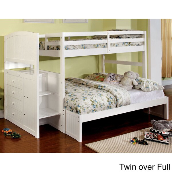 Pleven Bunk Bed with Built in Drawers