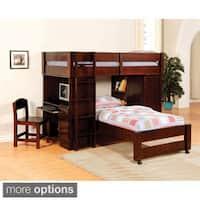 Siena Junior Loft Twin Over Twin Bunk Bed