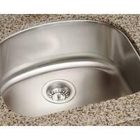 Polaris Sinks P812-16 Single Bowl Stainless Steel Sink