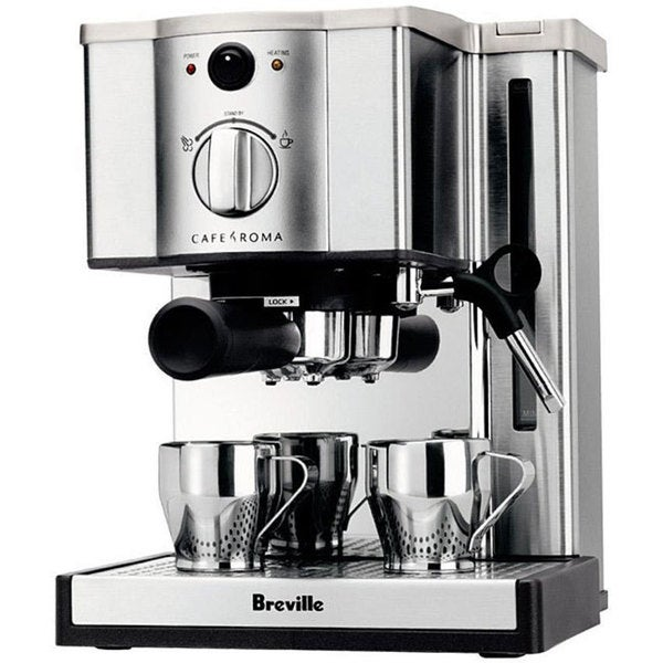 Breville Cafe Roma Espresso Cappuccino Machine Reviews