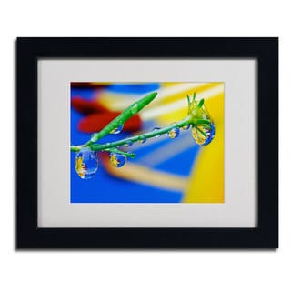 Steve Wall 'Pistol Packin' Drops' Framed Matted Art