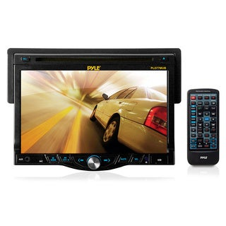 Pyle 7-inch Touch Screen TFT/LCD Monitor Digital Video Player/CD/MP3/USB/SD Slot/AM/FM Player