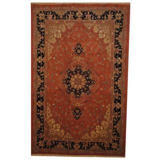 Handmade One-of-a-Kind Tabriz Wool and Silk Rug (Iran) - 6'6 x 10'1