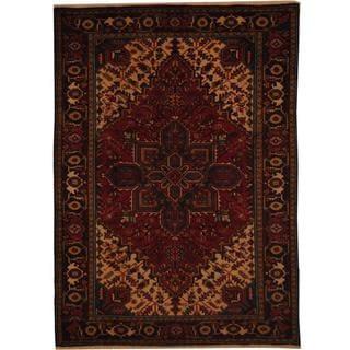 Handmade One-of-a-Kind Heriz Wool Rug (Iran) - 6'7 x 9'2