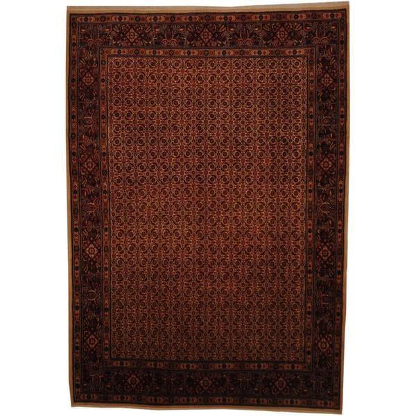 Herat Oriental Persian Hand-knotted Bidjar Wool Rug (7' x 10') - 7' x 10'