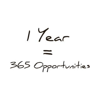 365 Opportunities in One Year Quote Vinyl Wall Art https://ak1.ostkcdn.com/images/products/9057028/365-Opportunities-in-One-Year-Quote-Vinyl-Wall-Art-P16252006.jpg?impolicy=medium