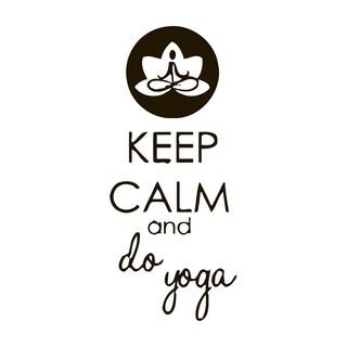 Do Yoga Quote Vinyl Wall Art
