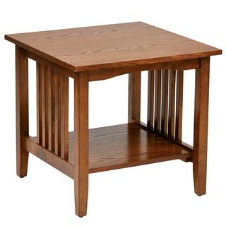 Sierra Mission End Medium Oak Table
