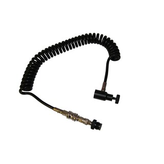 I&I Sports Paintball Gun CO2 Tank Coiled Remote Set Hose