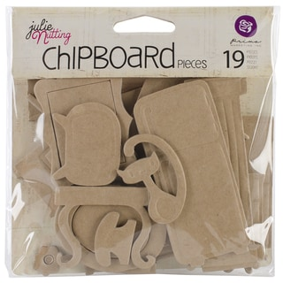 Mixed Media Doll Chipboard Shapes 19/Pkg-Furniture