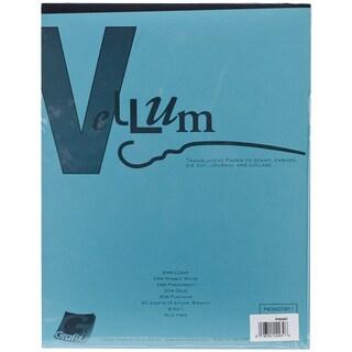 """Vellum Assortment 8.5""""X11"""" 40/Pkg"""