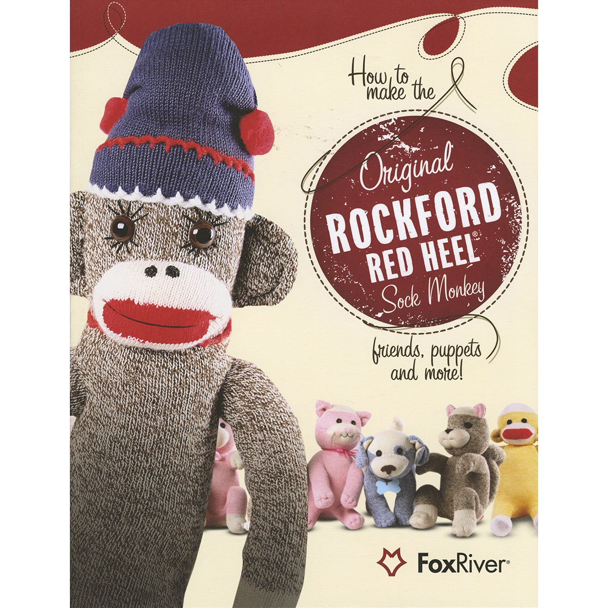 Fox River Pop Monkey Pattern Book (48 pages)