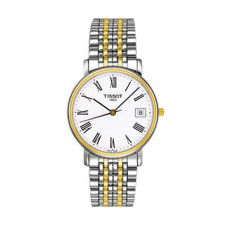 Tissot Men's T52248113 'T-Classic Desire' Two-tone Watch