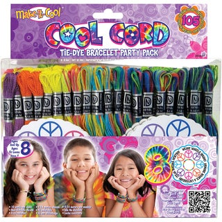 Cool Cord Friendship Bracelet Pack-Cool Cord Makes 100