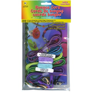 Bungee Cord Super Value Pack 5 Colors/Pkg 15' Total-Assorted Colors|https://ak1.ostkcdn.com/images/products/9058085/P16252976.jpg?impolicy=medium