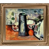 Paul Cezanne Water Pitcher and Decanteur Hand Painted Oil Reproduction
