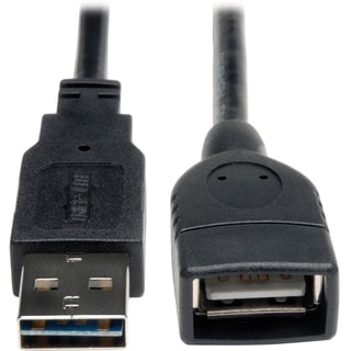 Tripp Lite 6in USB 2.0 High Speed Extension Cable Reversible A to A M