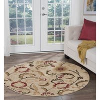 Alise Lagoon Transitional Area Rug (7'10 Round) - 7'10