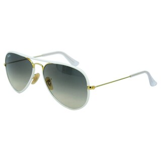 Ray Ban Unisex 'RB 3025JM 146/32' Aviator Sunglasses