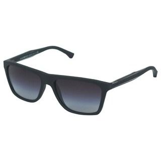 Emporio Armani Men's 'EA 4001 5063/8G' Retro Sunglasses