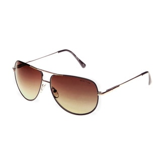 Kenneth Cole Reaction Unisex KC1177 050F Metal Aviator Sunglasses