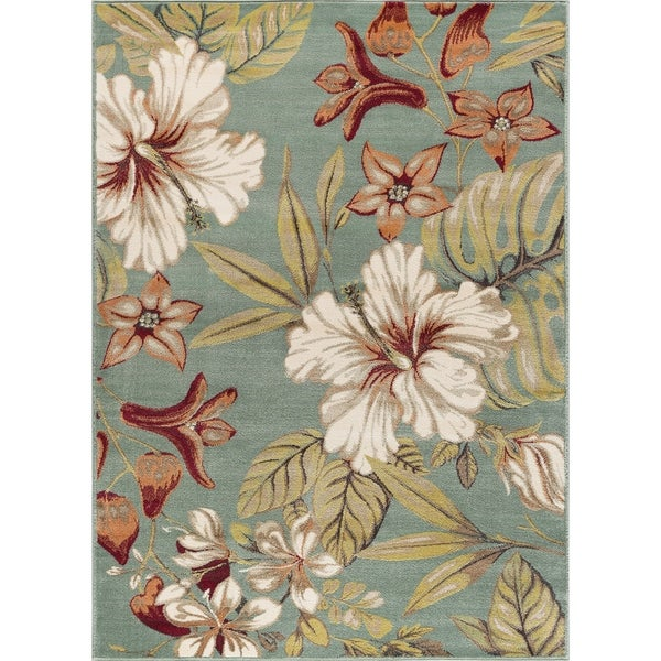 Alise Caprice Transitional Area Rug - 5'3 x 7'3