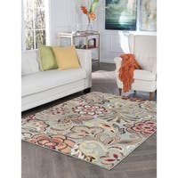 Alise Decora Transitional Area Rug - 5'3 x 7'3