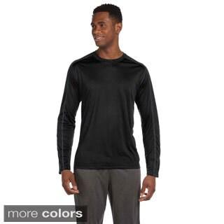 Men's Long Sleeve Interlock Pieced T-shirt