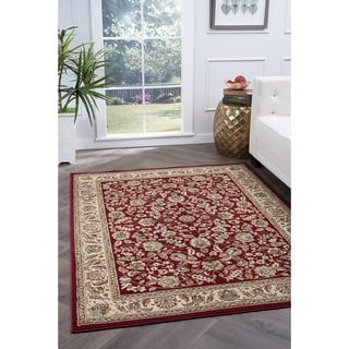 Alise Lagoon Traditional Area Rug (5' x 7')