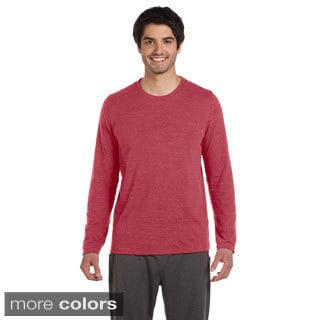 Men's Performance Tri-blend Long Sleeve T-shirt