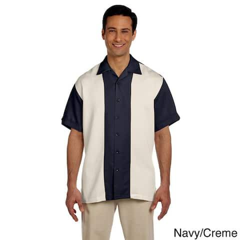 Men's Two-tone Bahama Cord Camp Shirt