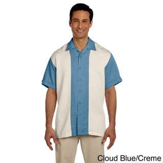 Men's Two-tone Bahama Cord Camp Shirt (More options available)