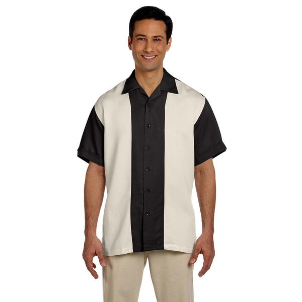Men's Two-tone Bahama Cord Camp Shirt. Opens flyout.