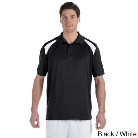 Men's Colorblocked Polytech Moisture-wicking Polo