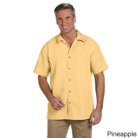 Men's Barbados Textured Camp Shirt