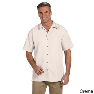 Men's Barbados Textured Camp Shirt (More options available)