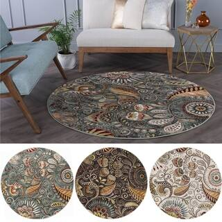 Alise Caprice Transitional Area Rug (5' 3 Round)|https://ak1.ostkcdn.com/images/products/9060888/P16255348.jpg?impolicy=medium