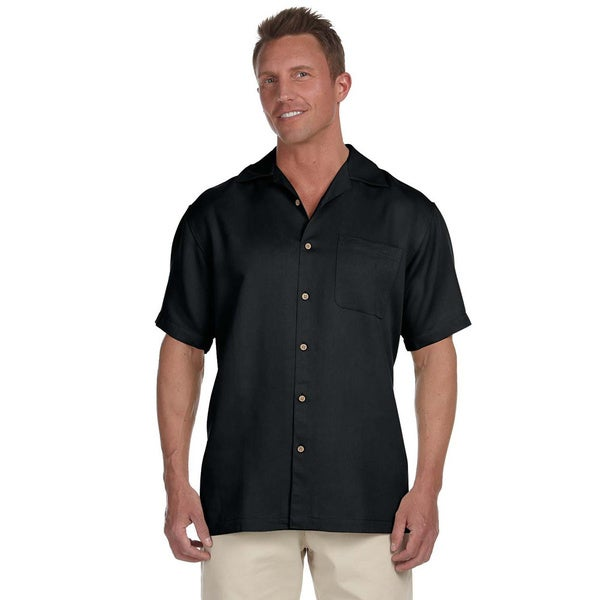Men's Bahama Cord Camp Shirt. Opens flyout.