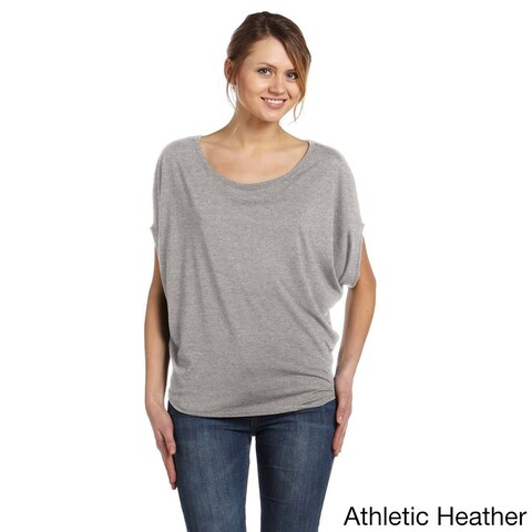 Women's Flowy Circle-draped Top