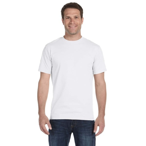 Hanes Mens White Beefy-T Tall Undershirts (Pack of 12)