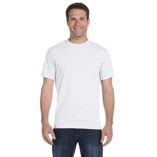 Hanes Men's White Beefy-T Tall Undershirts (Pack of 12)