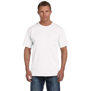 Fruit of the Loom Men's Heavy Cotton HD Pocket Undershirts (Pack of 12)