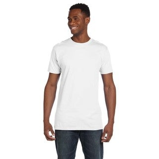 Hanes Men's Contemporary Fit Ringspun Cotton Nano-T Undershirts (Pack of 12)
