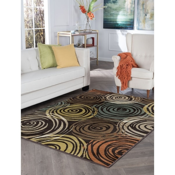 Alise Decora Contemporary Area Rug - 7'10 x 10'3