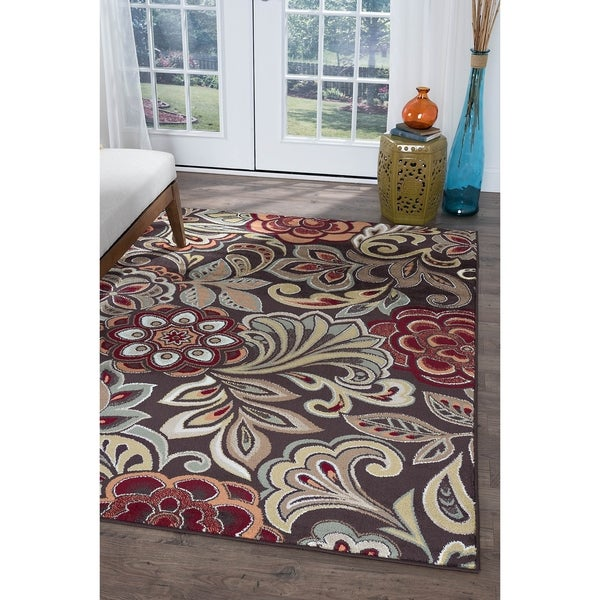 Alise Decora Transitional Area Rug (7'10 x 10'3) - 7'10 x 10'3