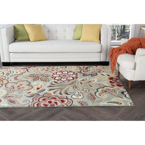 Alise Decora Transitional Area Rug - 7'10 x 10'3