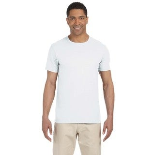 Gildan Men's White Softstyle Undershirts (Pack of 6)
