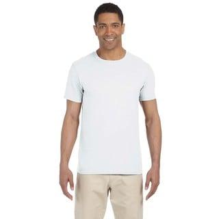 Gildan Men's White Softstyle Undershirts (Pack of 6)
