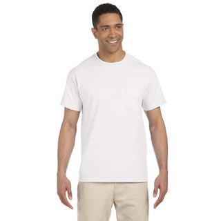Gildan Men's Ultra Cotton Pocket Undershirts (Pack of 6)